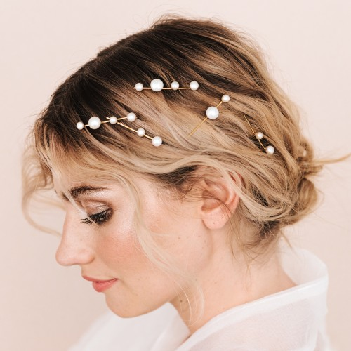 Bridal Hair pins - Perle