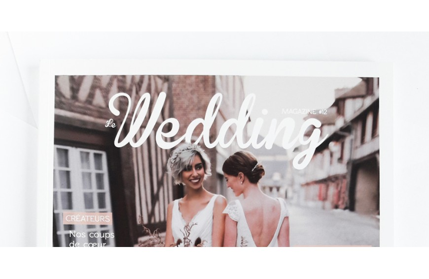 WEDDING MAGAZINE x MAISON SABBEN