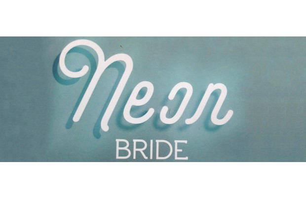 NEON BRIDE - EDITORIAL - WEDDING MAGAZINE